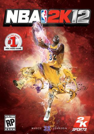 NBA 2K12 - Magic Johnson Cover