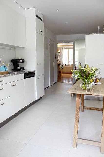 Küche Durchblick ins Arbeitszimemr