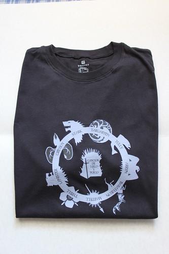Camiseta canción de hielo y fuego by Furanu