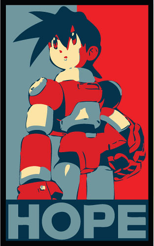 Mega Man Hope Poster