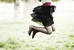 (Ebtesam.) Tags: red sunlight black photography photo jump jumping nikon dress skirt saudi arabia jeddah riyadh saudiarabia ebtesam