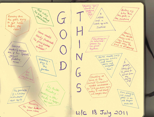 good things wc 18 july 2011