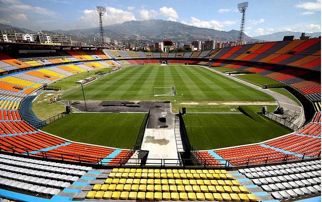 Fútbol colombiano a lo europeo
