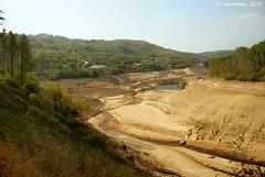 A seca en Montalegre (Trás-os-Montes, Portugal)