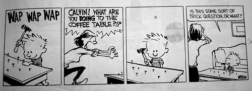 Calvin & Hobbes: Trick Question