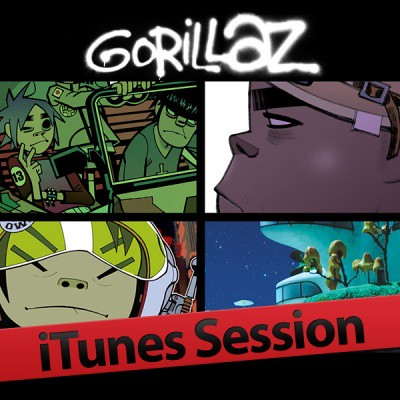 Gorillaz---iTunes-Session