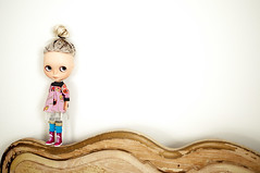 adad 207/365 - somedays, you just want to be left alone (libbalu) Tags: doll plastic mohair blythe custom takara fable bba ebl moofala