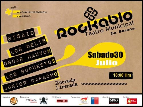 ROCKABLO - La Serena (SABADO 30 de JULIO) by Oscar Hauyon