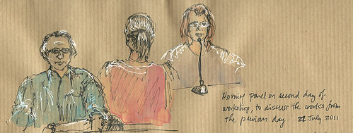 USK Symposium panel sketch, Lisbon, Portugal