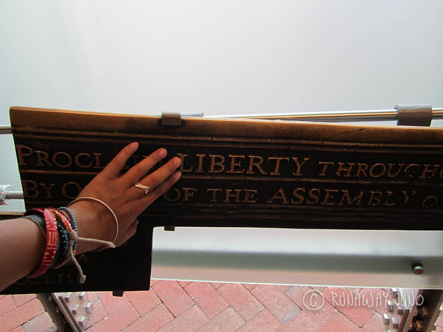Feel the liberty at Philly