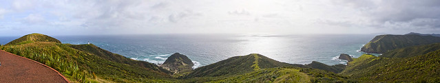 Cape Reinga panorama