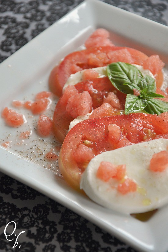 frozen watermelon caprese 2