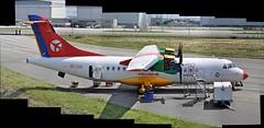 ATR 42-300 MSN 112 OY-CIU DX (A380spotter) Tags: autostitch composite 300 toulouse blagnac tls dx atr42 dtr lfbo avionsdetransportrgional danishairtransport latcoreaeroservices oyciu