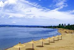 Welcome to Kladovo (muskysuck) Tags: summer beach river boat nationalpark serbia gorge danube brod srbija irongate obala reka kladovo