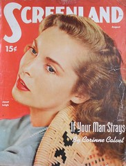 Screenland August 1951 (Swaalfke) Tags: papier