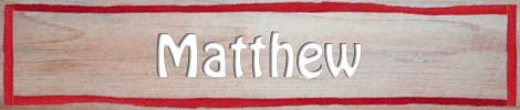 504 Name Matthew