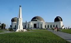Griffith Observatory (Lou Angeli Digital) Tags: california summer stars losangeles afternoon science observatory hollywood planets restoration artdeco griffithpark griffithobservatory griffith 2009 hollywoodhills loangeles louangeli august2009
