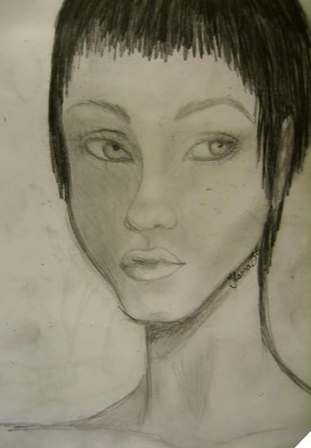 retrato de nadie
