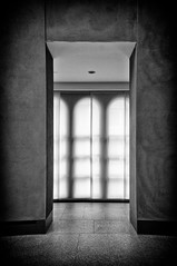 Modern Classicism (harry.f) Tags: city urban blackandwhite white abstract black architecture minimal elements architektur lamps whitespace harryf 28on35