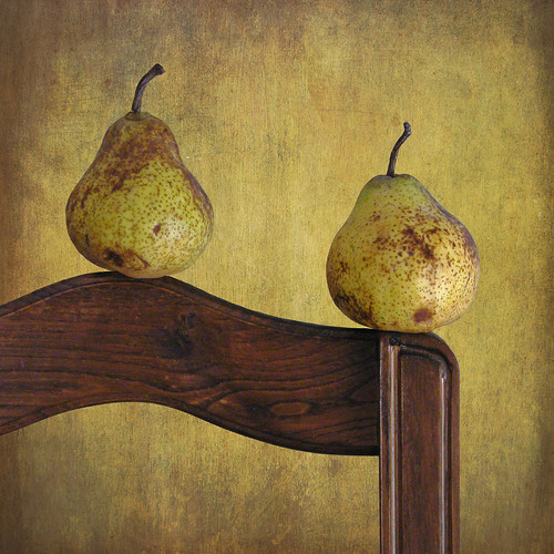 Two Pears on a Chair