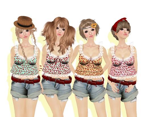 ***Ambrosia***cherry camisole