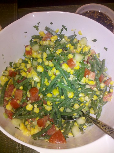 Farm Stand Corn Salad from Ten