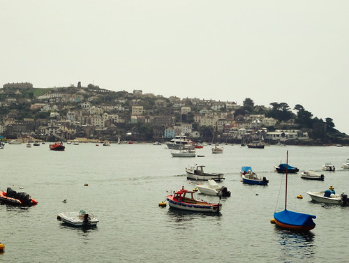 Looking out from Fowey