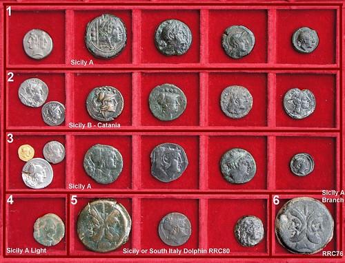 Sicily Roman Republican struck Bronzes, Second Punic War Period