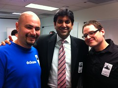 Michael, Aneesh and Daniel.