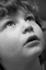--- ({fuzzonce}) Tags: portrait baby face blackwhite ritratto biancoenero bambino faccia strobist