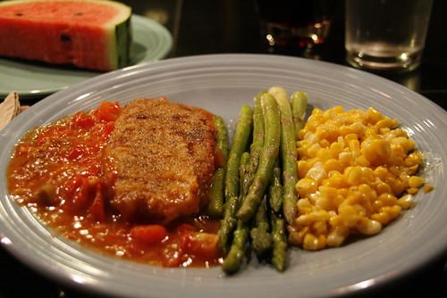 Tomato Smothered Pork 3
