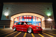 Muhammet Sivri - MK4 GLI (Ronaldo.S) Tags: light red lines vw nikon paint tokina gli schmidt tornado f28 th mk4 alienbees d90 b800 1116mm