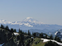 Mt. Adams from Crystal Peak summit.