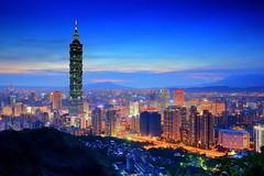 101 - Night view of Taipei 101 - Taipei City (prince470701) Tags: taiwan taipei101  taipeicity  101 elephantmountain sonya850 sony2470za nightvieqw