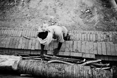| (ayashok photography) Tags: girls boy bw woman india man lady self asian blackwhite nikon asia indian working documentary july dude desi bnw bharat tenkasi bharath desh barat 2011 barath thenkasi brickfactory ayashok nikond300 tokina1116mm