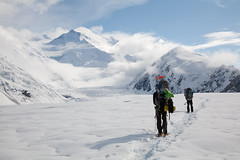 On the Glaicer (Joe Stylos) Tags: alaska glacier climbing snowshoeing mckinley denalinationalpark muldrow