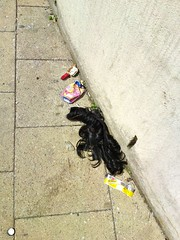 looted hair? by garethbee