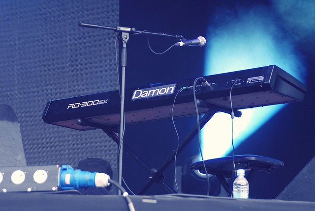Damon's keyboard