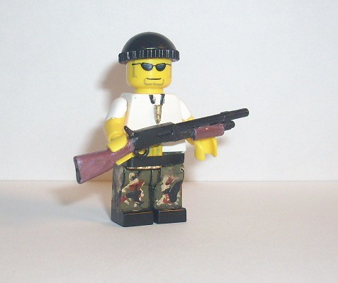 Custom minifig Das Resistance