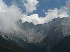 rocks and clouds (stefg74) Tags: summer sky cloud mountain snow forest greece olympos olimpos kazania olimposeu wwwolimposeu