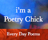Poetry Chick Blue