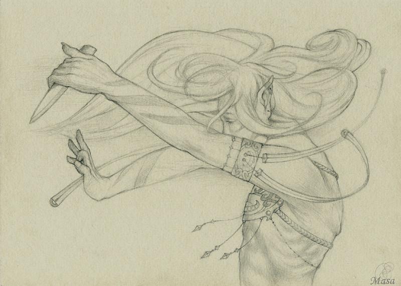 рисунки карандашом танцы: