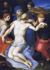 Bronzino - Lamentation over the dead Christ (1568-69) (petrus.agricola) Tags: dead florence christ over angelo uffizi galleria degli lamentation bronzino agnolo