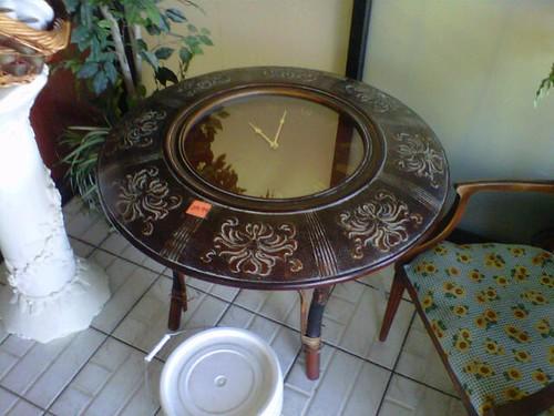Clock Table- Dallas,Texas