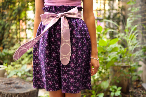 Enchanted Bow Skirt