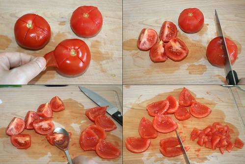 16 - Tomaten entkernen
