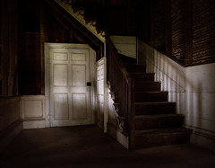 creaky old steps (History Rambler) Tags: door old shadow house abandoned home architecture rural south