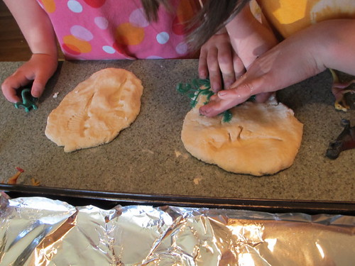 "Making ""Dino Fossils"" #3"