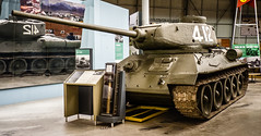 Russian Tank Medium T-34/85-11 (Chris (Midland05)) Tags: england war tank bovington warmachines thetankmuseum