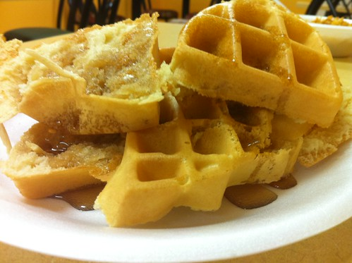 When It Comes To Waffles, I Like T Think Outside The Box